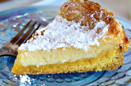 Gooey butter cake from St Louis