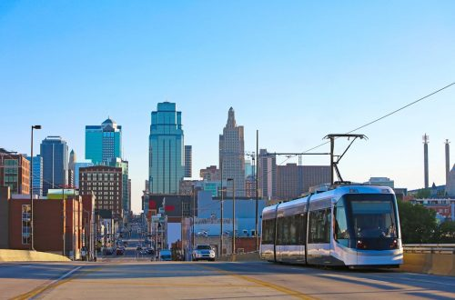 Public transportation in Kansas City